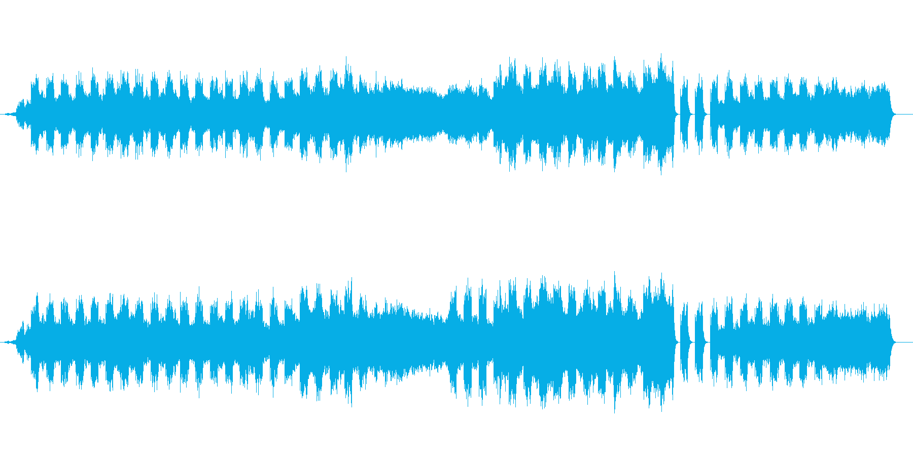 海流(オーシャン・カレント)の再生済みの波形