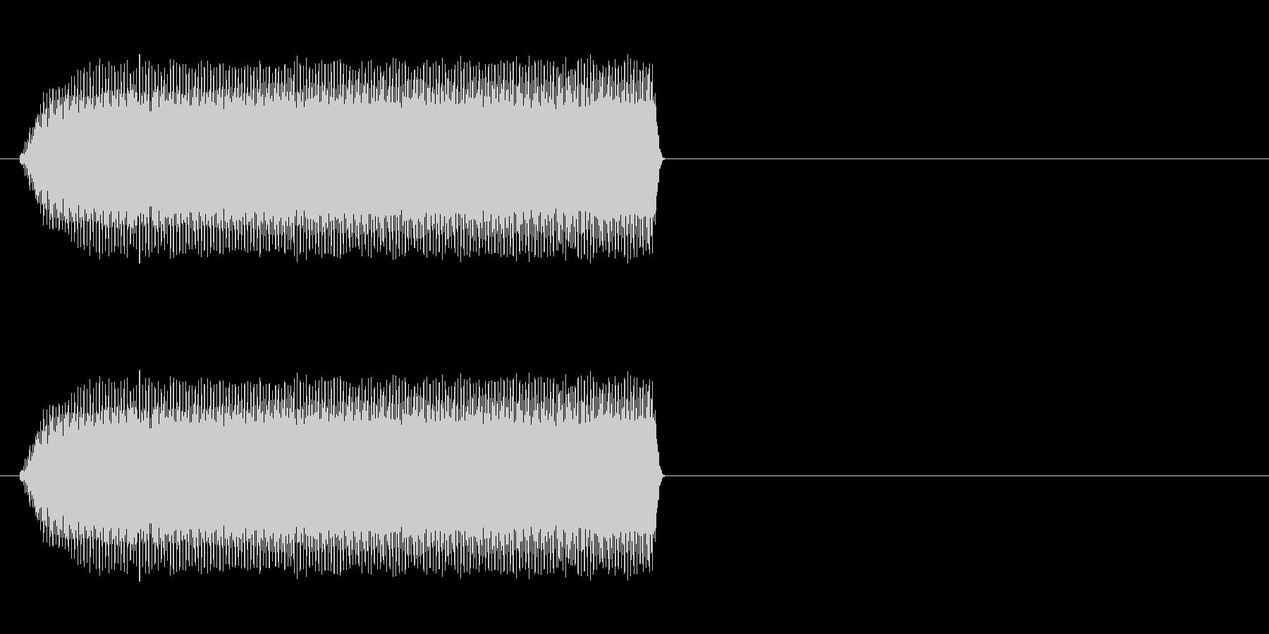 携帯用バイブ音源大きい音の未再生の波形