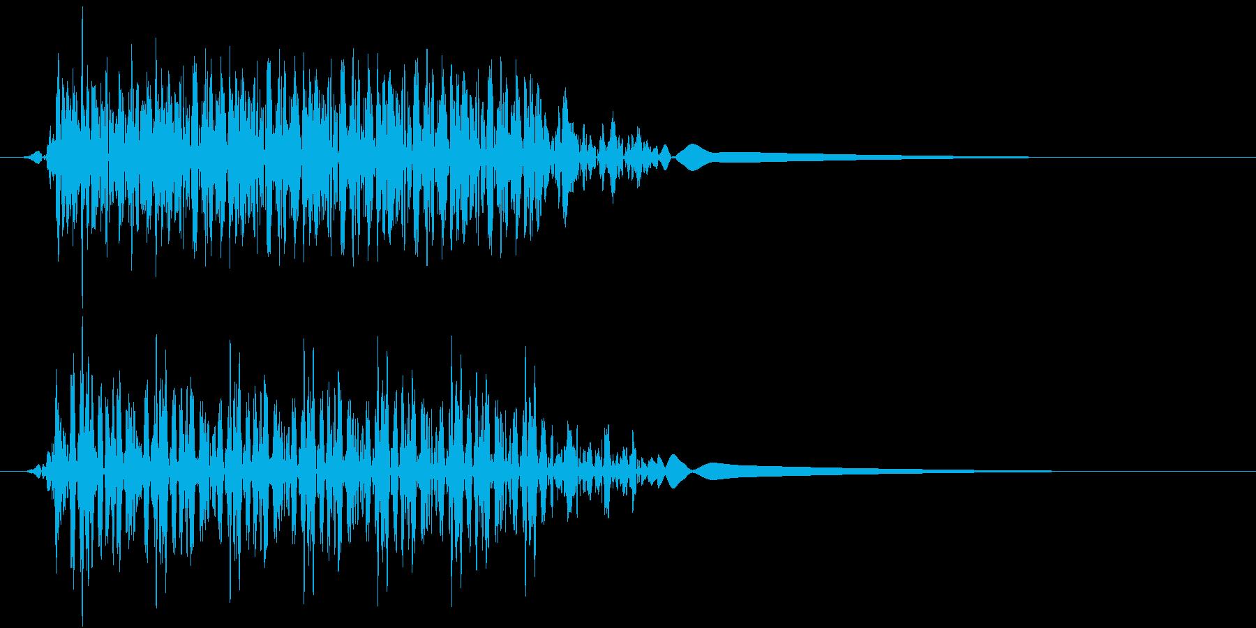 Push 汎用決定・セレクト音 10の再生済みの波形