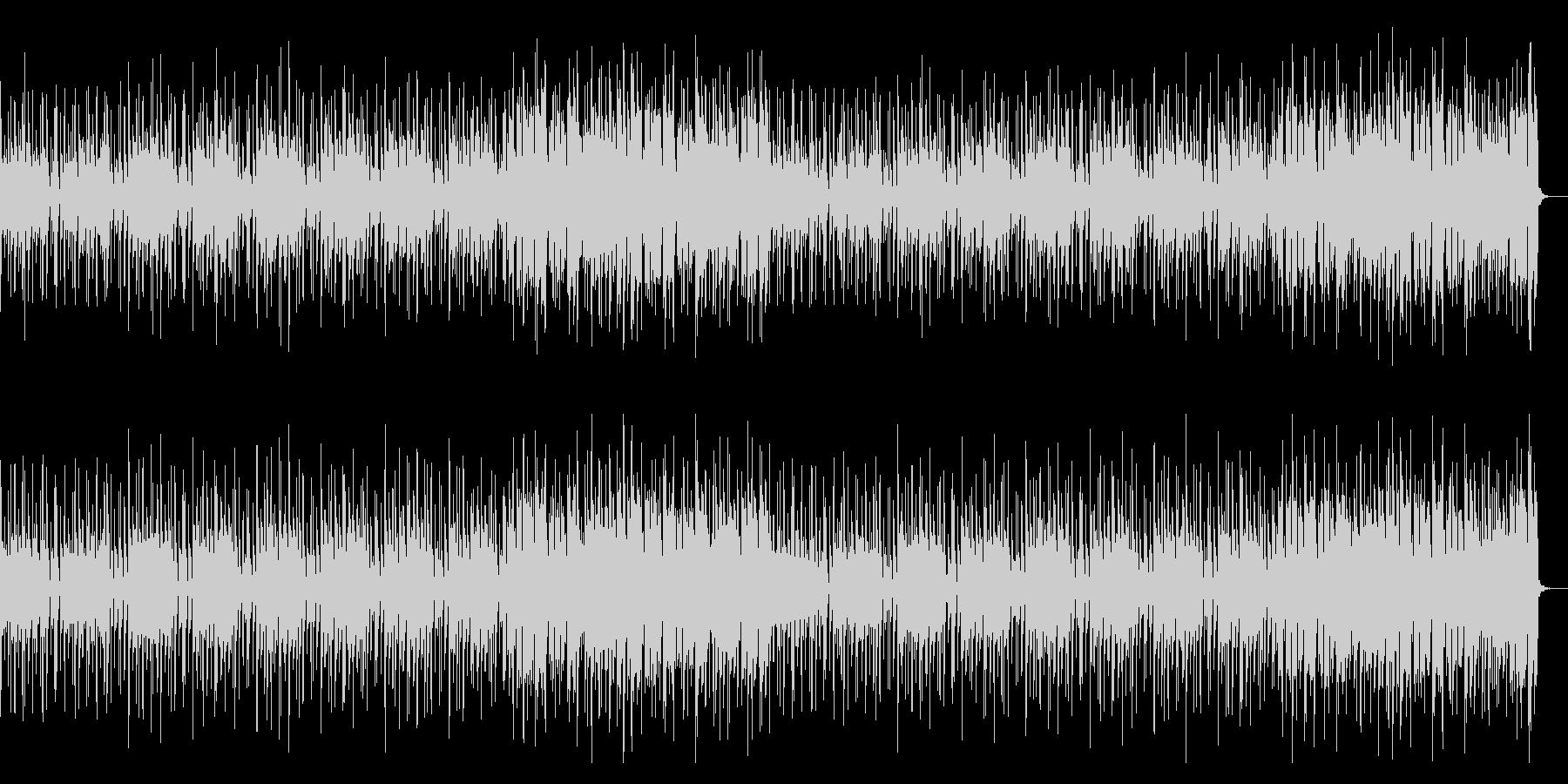 80年代風でクールなエレキファンクの未再生の波形