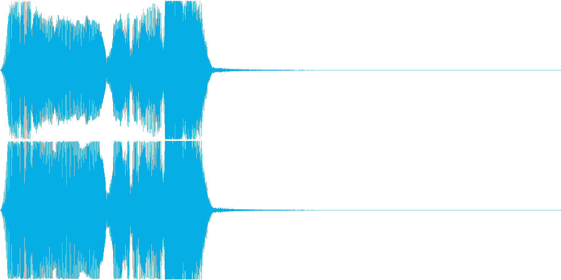 「マーベラス」アプリ・ゲーム用の再生済みの波形
