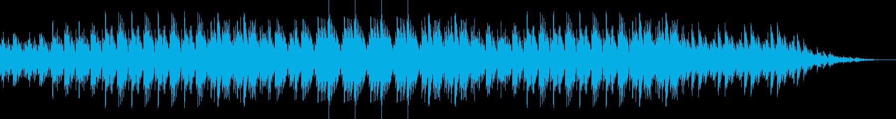 ゆったりとしたピアノ リラックス時にの再生済みの波形
