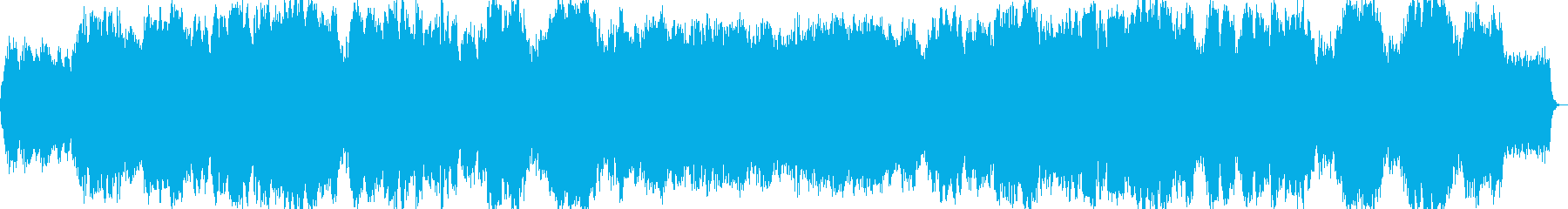 悲しげなイージーリスニング曲の再生済みの波形