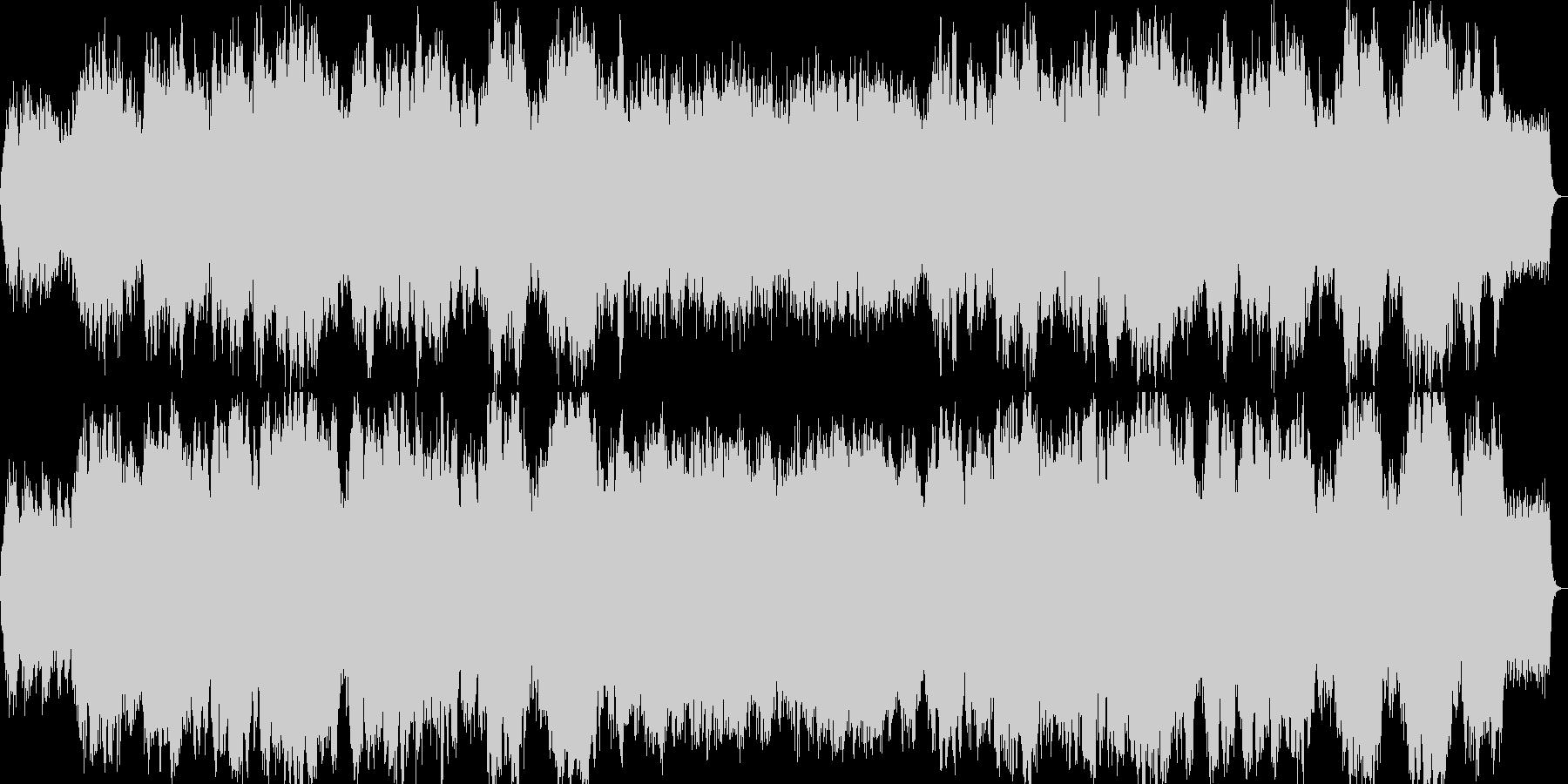 悲しげなイージーリスニング曲の未再生の波形