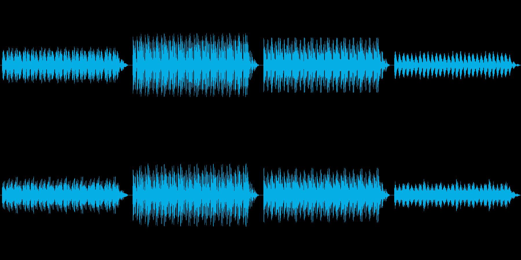 ショートBGM:神秘的・幻想的の再生済みの波形