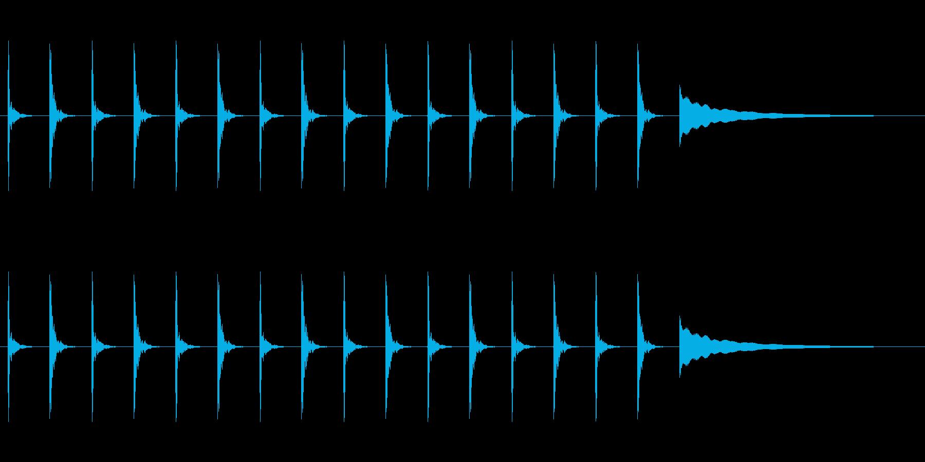 【カウントダウン05-3】の再生済みの波形