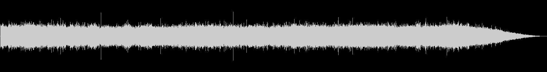 ザー…(滝、自然、滝つぼ)の未再生の波形