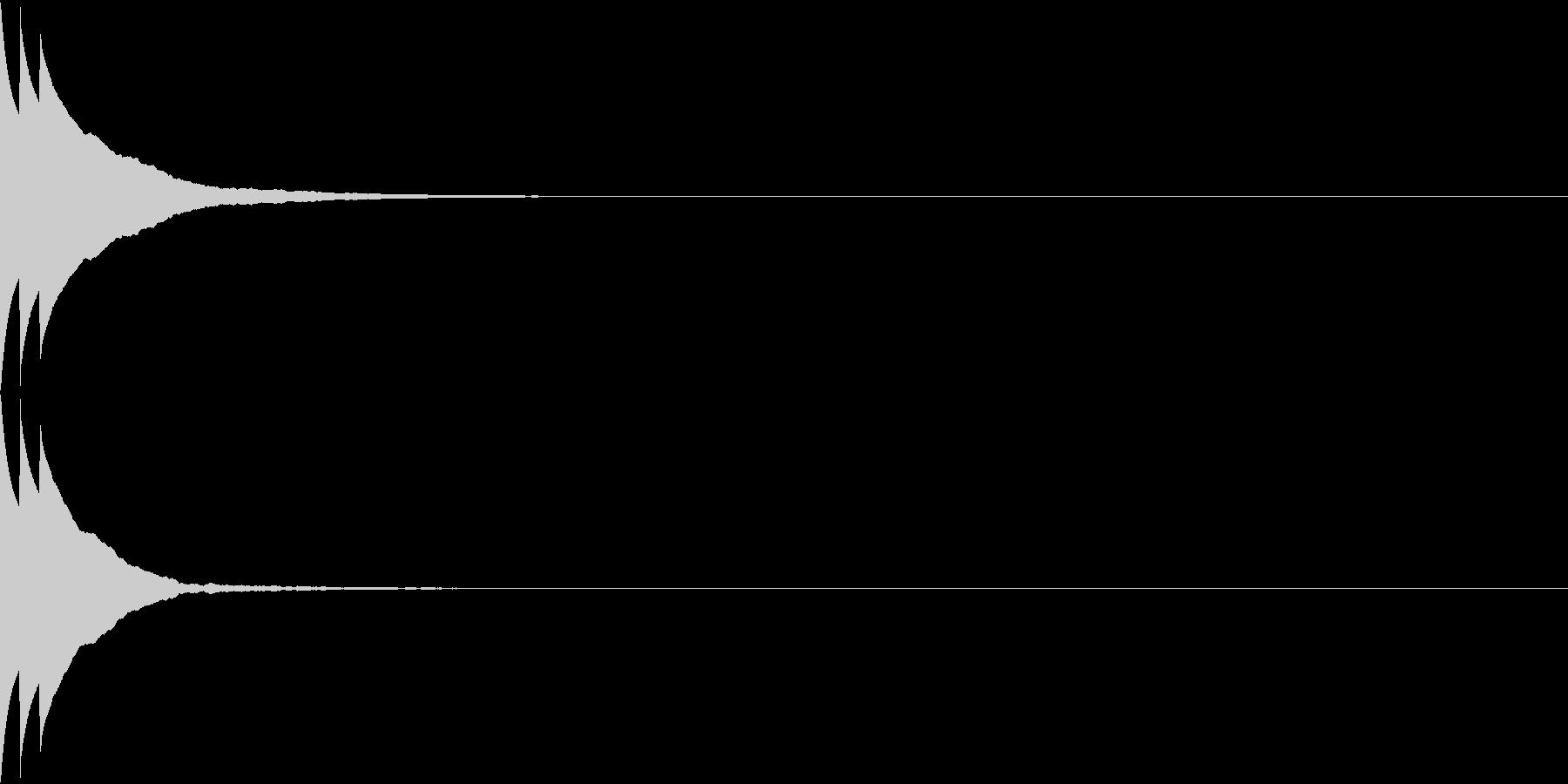 Bank 汎用性のある通知・認証音 12の未再生の波形