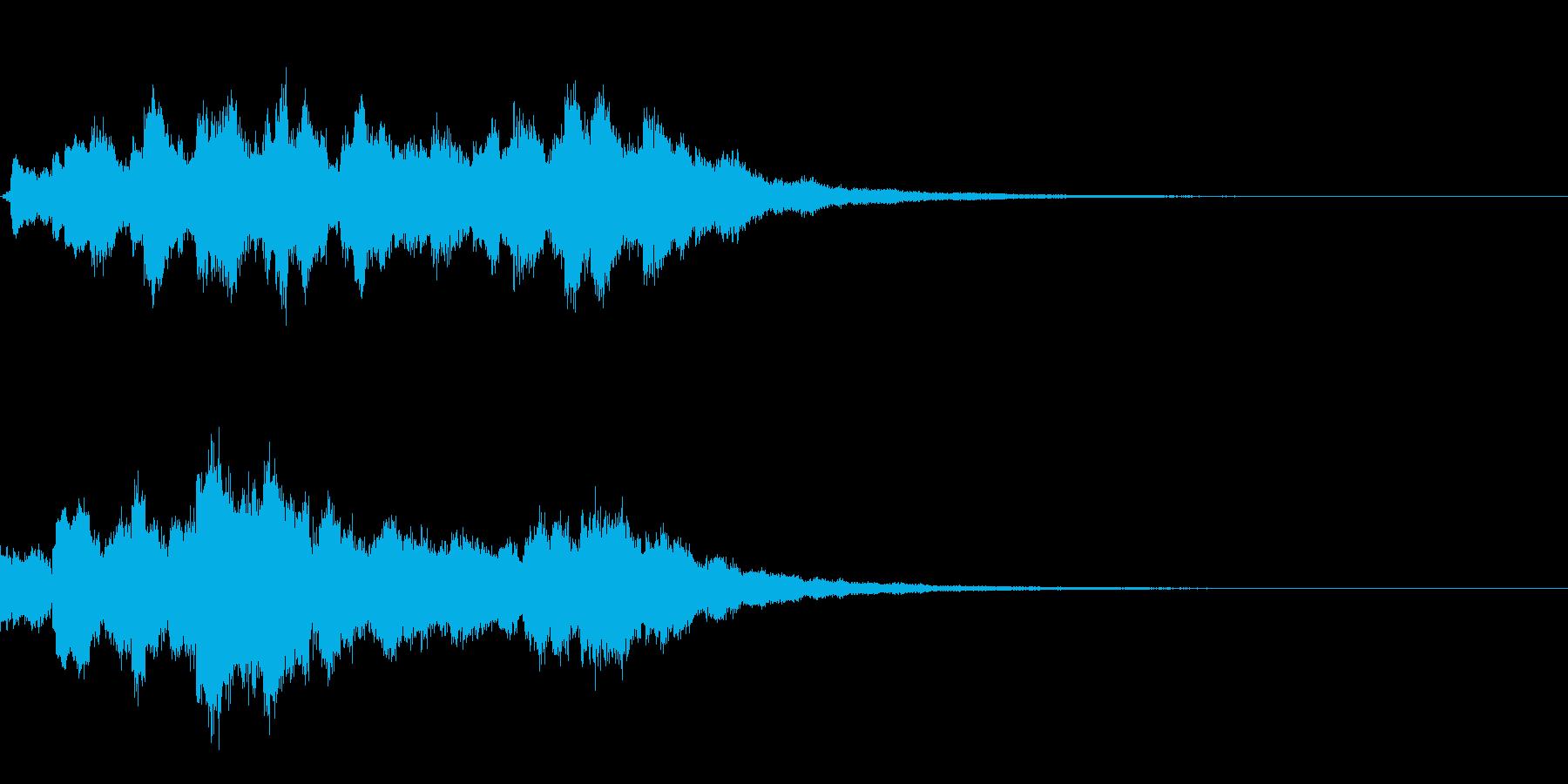 魔法の粉が降り注ぐ音 キラキラシャララの再生済みの波形