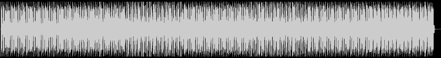 デジタルなファンクミュージックの未再生の波形