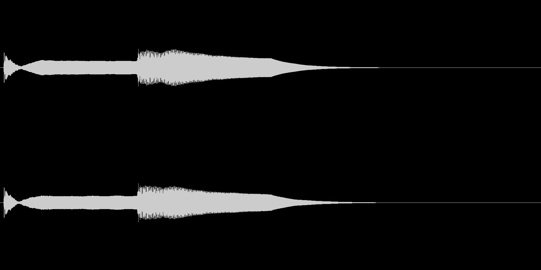 ピンポン (5)の未再生の波形