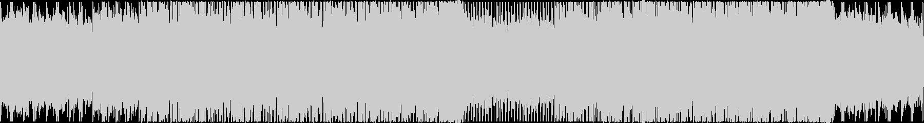 【ループ】お洒落で軽快なクール系テクノの未再生の波形