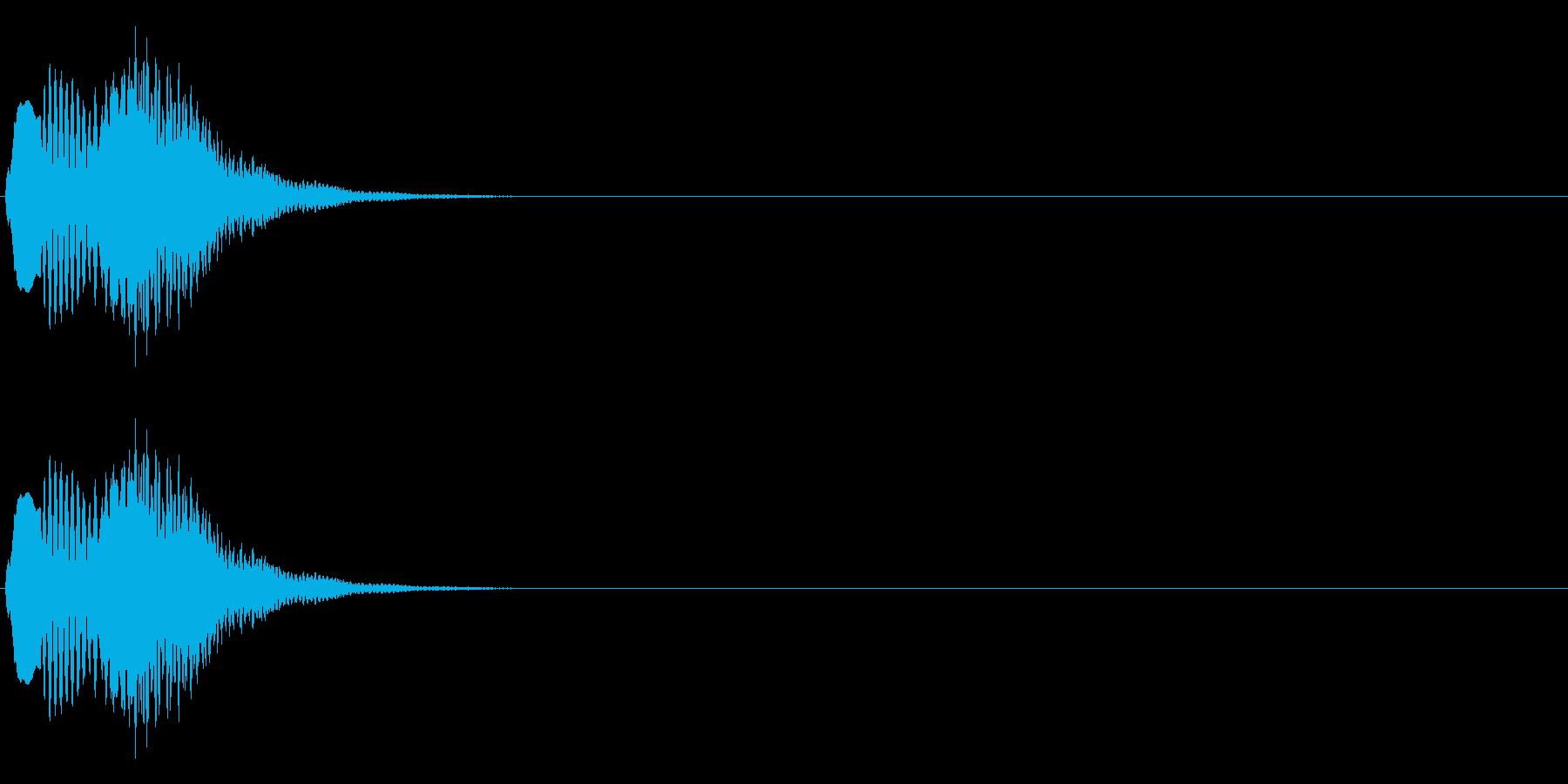 トリンの再生済みの波形