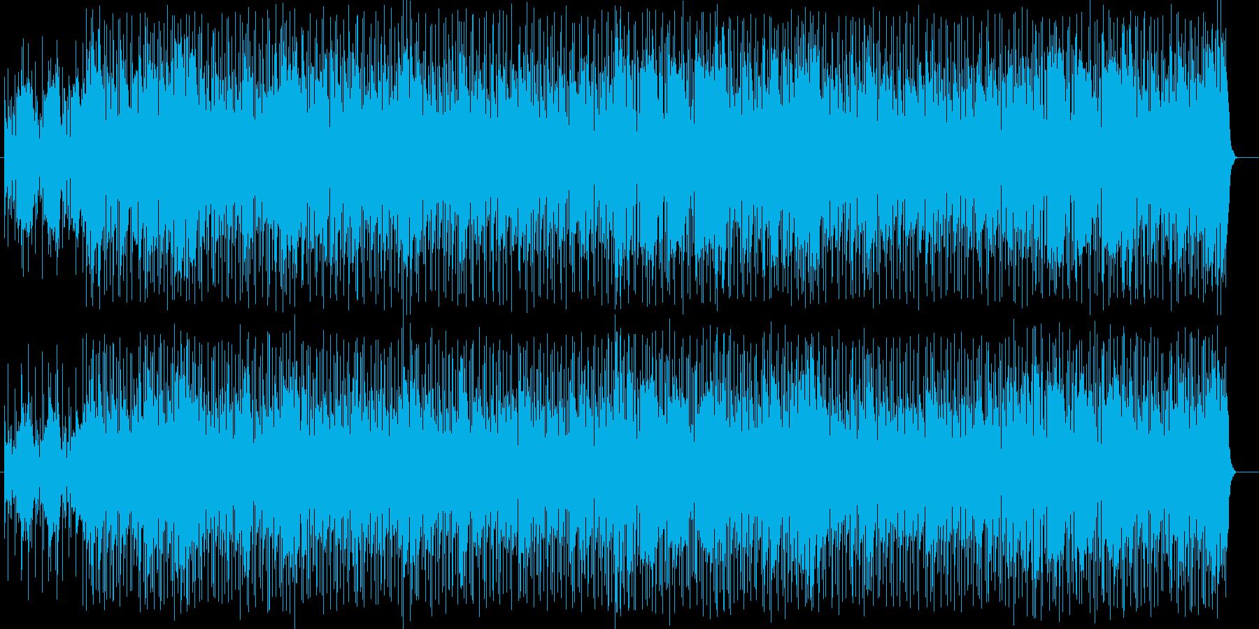 バイオリンが爽やかな午後を演出するBGMの再生済みの波形