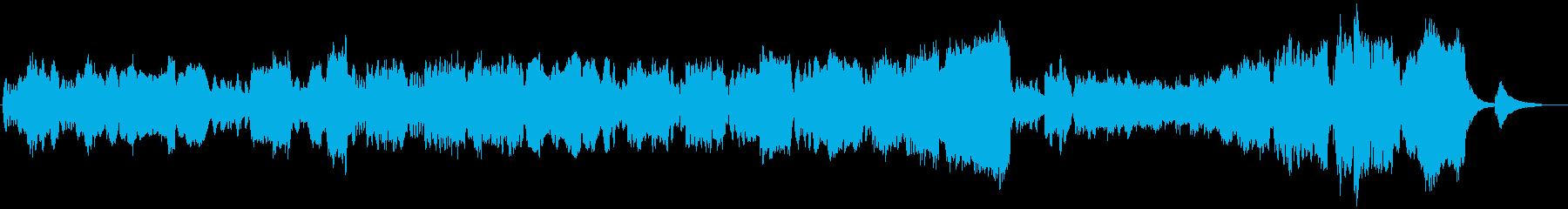 管楽器の旋律が温かいファンタジー作品の再生済みの波形