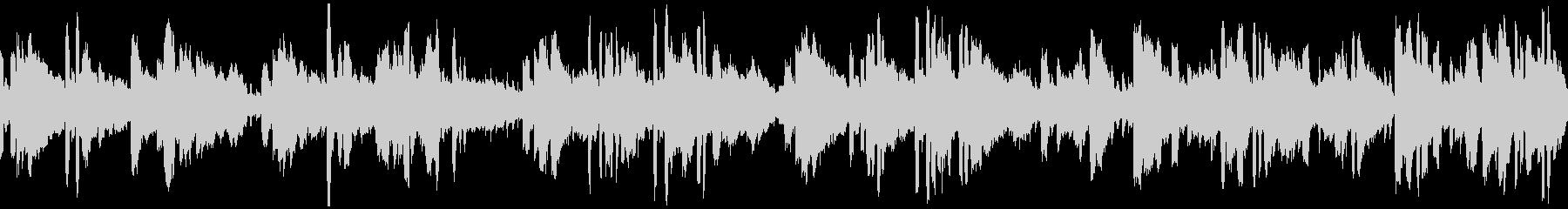 素朴な癒しケルト風BGMの未再生の波形