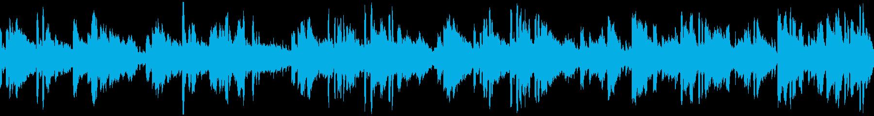 素朴な癒しケルト風BGMの再生済みの波形