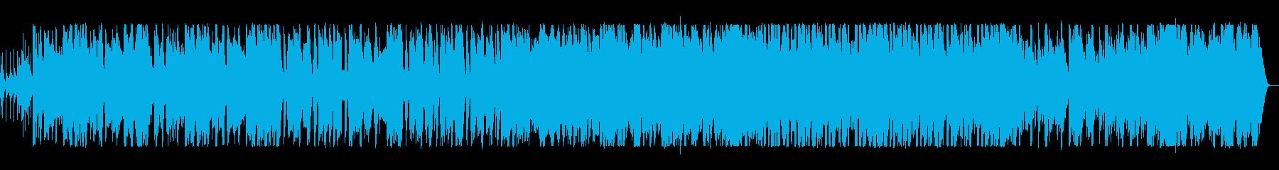オシャレでかっこいいブラスサウンドの再生済みの波形