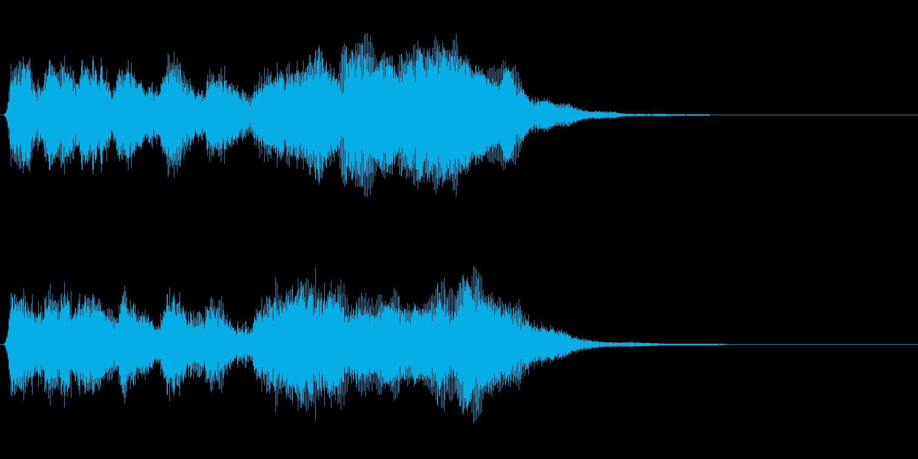 古風なファンファーレ・クエストクリアの再生済みの波形