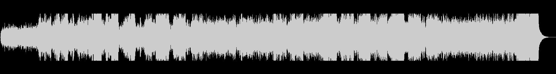 暗黒の魔城 ダーク、ホラー向けBGMの未再生の波形