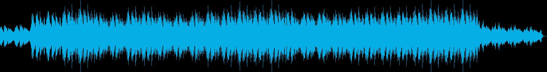 静かで切ないアンビエントサウンドの再生済みの波形