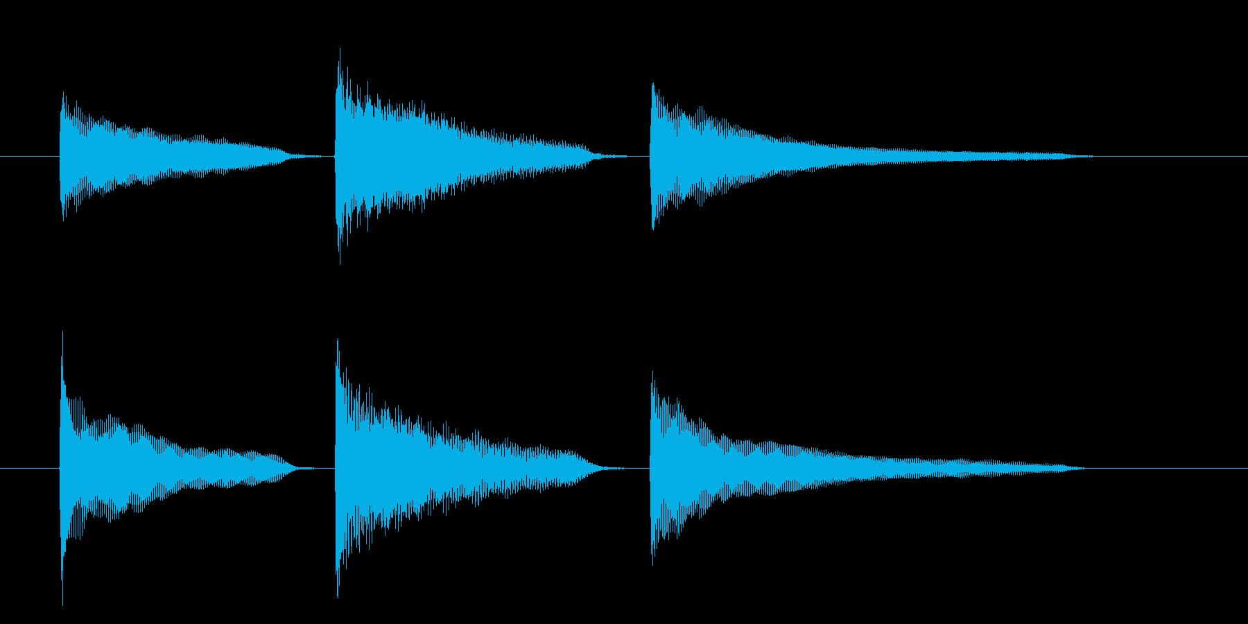 起立・気をつけ・礼(ピアノ)の再生済みの波形
