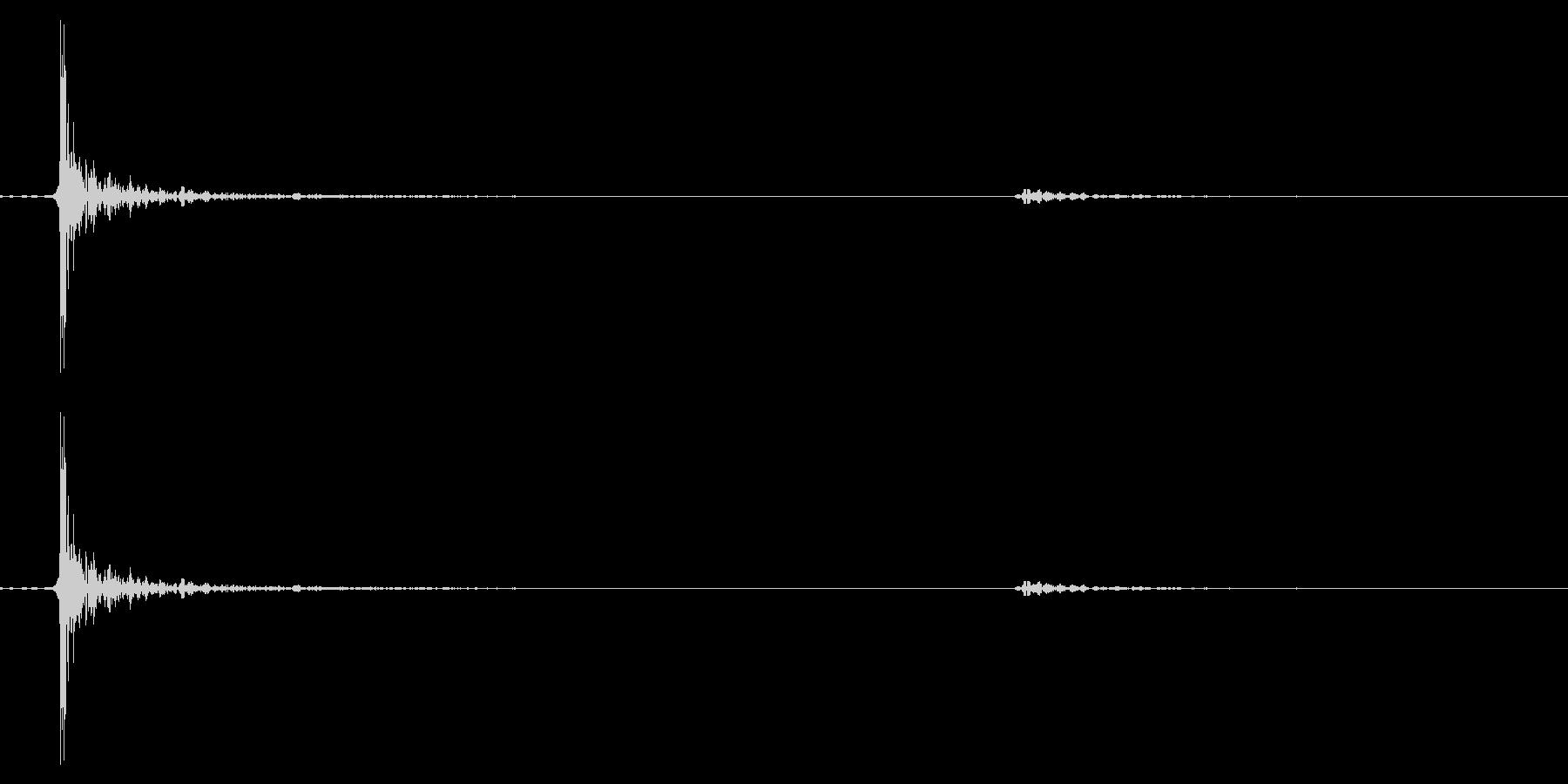 カーソル移動音7の未再生の波形