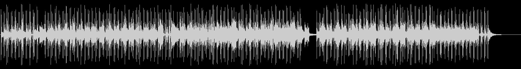 穏やかなアコースティックギターのボサノバの未再生の波形
