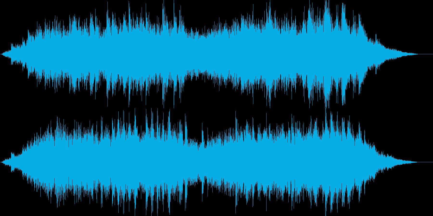 キラキラしたバラードの再生済みの波形