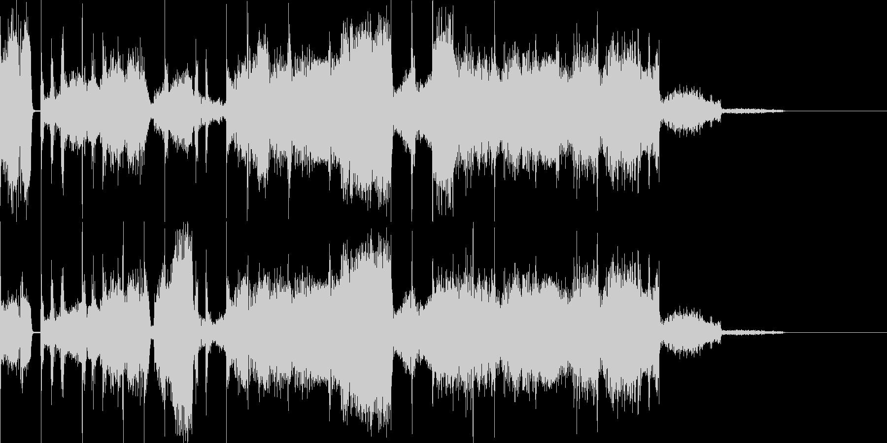 ゆっくりな電子音で幻想的な曲です。の未再生の波形