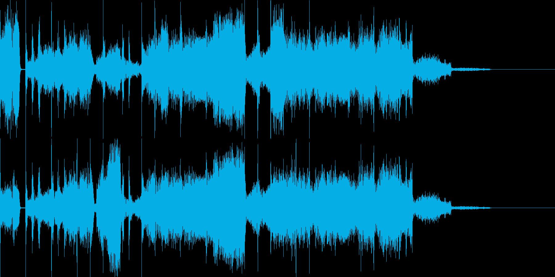 ゆっくりな電子音で幻想的な曲です。の再生済みの波形