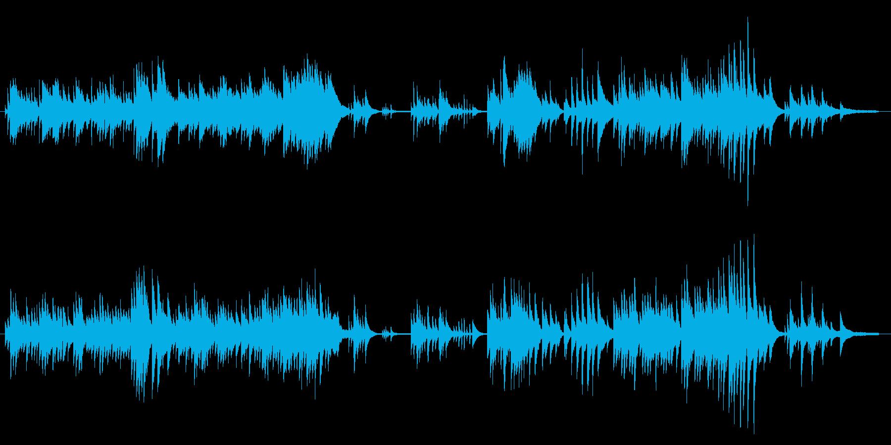 「心安らぐピアノソロ」の再生済みの波形