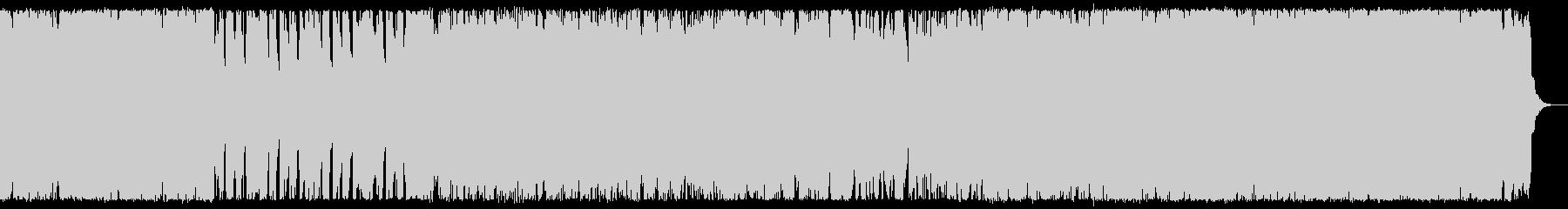 ポップでクールなメロディのシンセBGMの未再生の波形