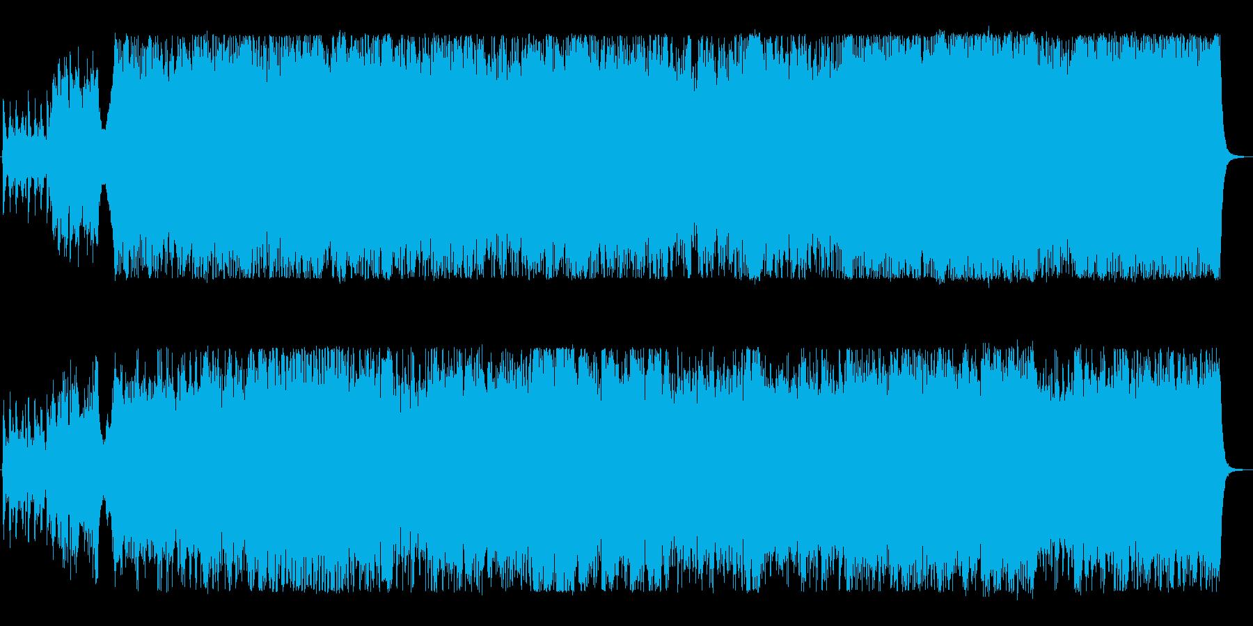 壮大なケルト 民族音楽の再生済みの波形