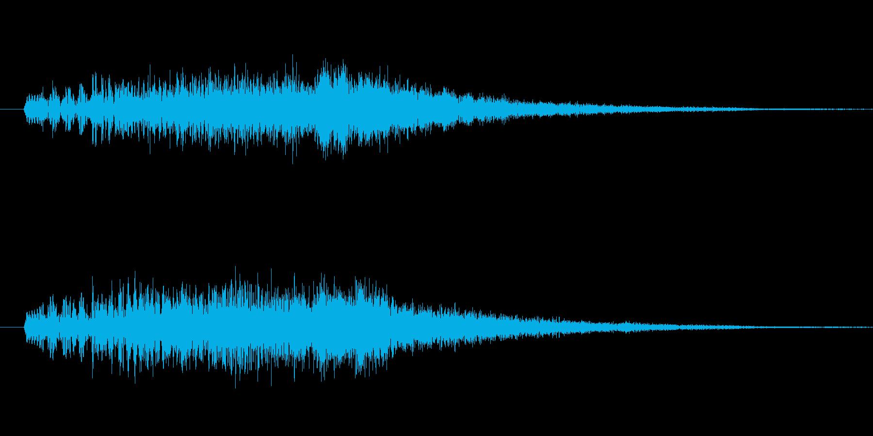 ドゥルルルルルルリン の再生済みの波形