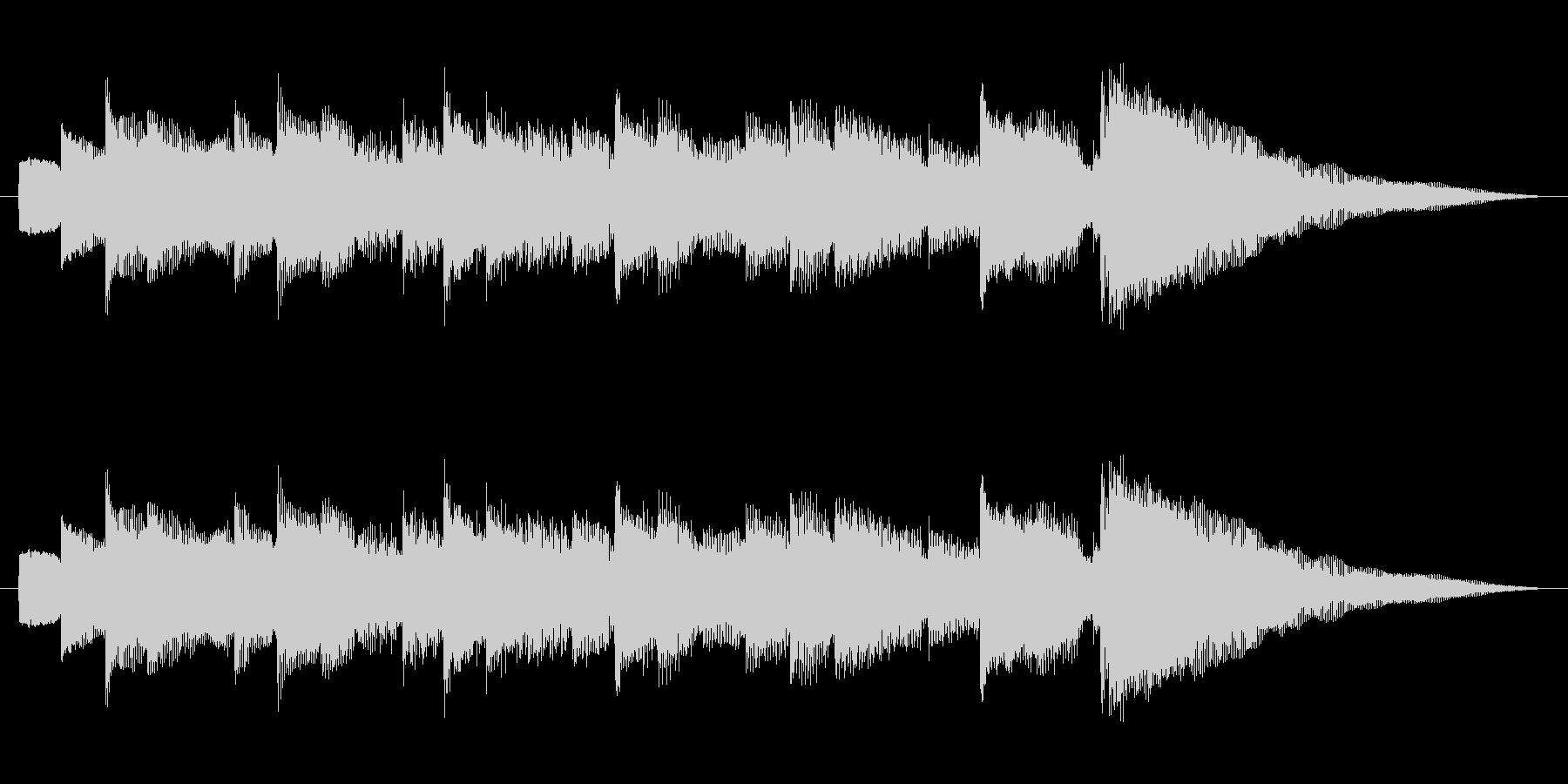 ジングル 切ないアルペジオギターAの未再生の波形