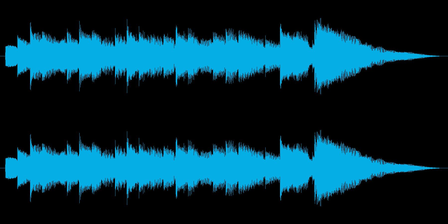 ジングル 切ないアルペジオギターAの再生済みの波形