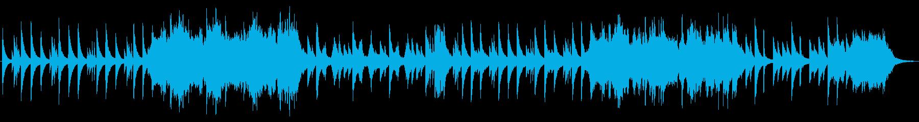 しんみりと寂しげなピアノ&ストリングスの再生済みの波形