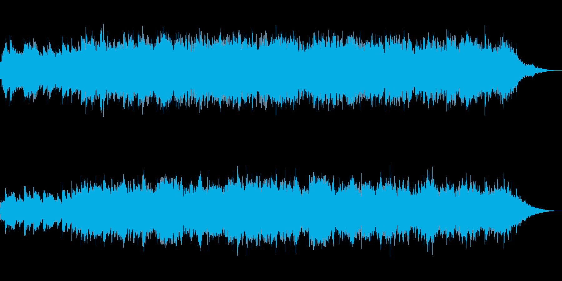 ピアノとストリングスのイージーリスニングの再生済みの波形