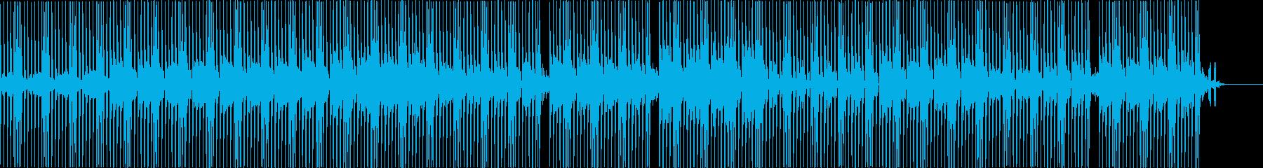 スタイリッシュで未来的なBGMの再生済みの波形