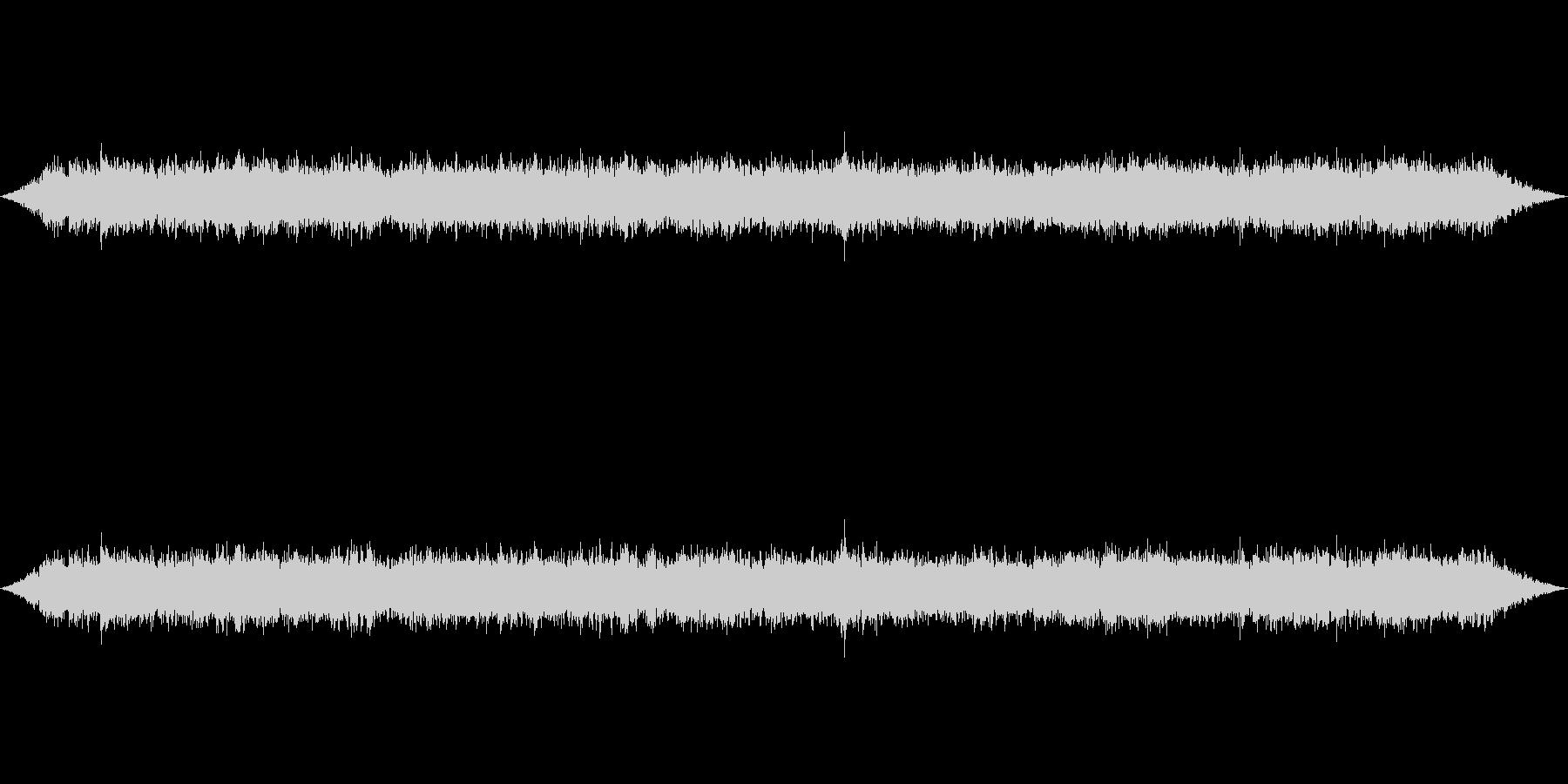 ざわざわ高音質で収録の未再生の波形