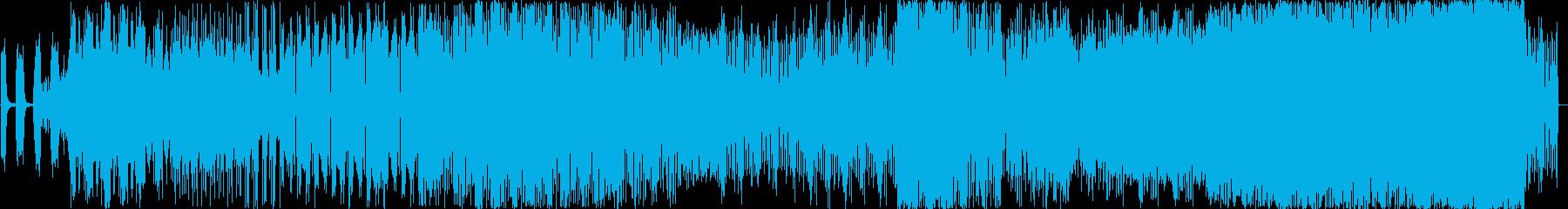 重厚感漂うアンビエントサウンドの再生済みの波形