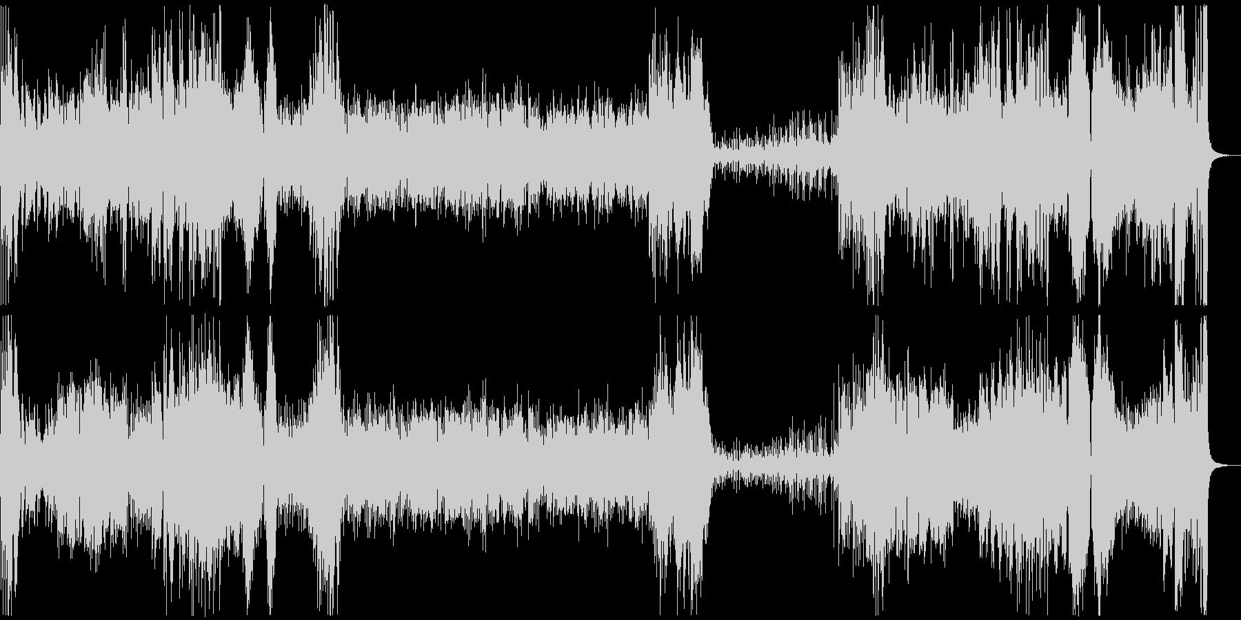 さくらさくらのビッグバンドジャズの未再生の波形