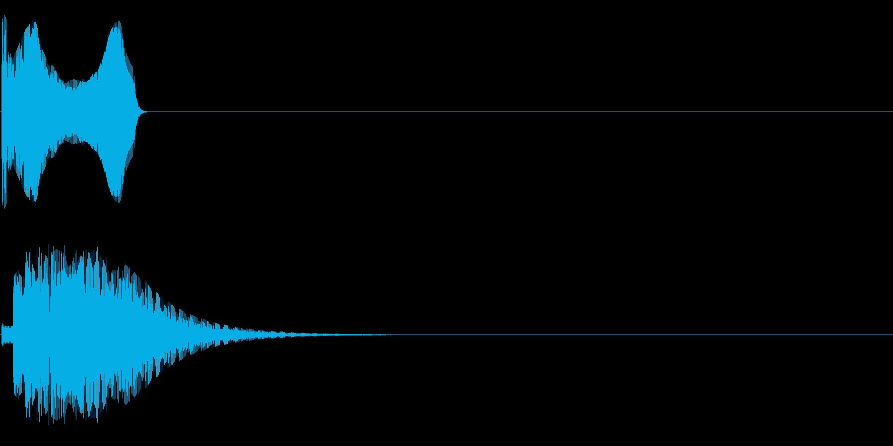 ップィンの再生済みの波形