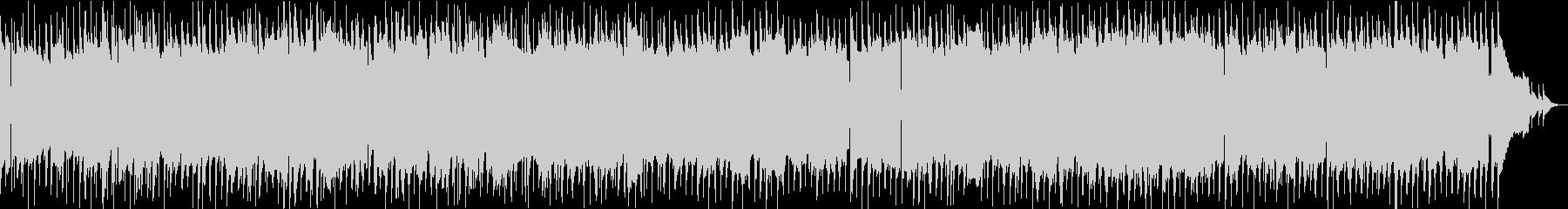 ガットギターを使ったムードスイングジャズの未再生の波形