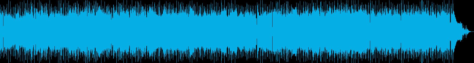 ガットギターを使ったムードスイングジャズの再生済みの波形