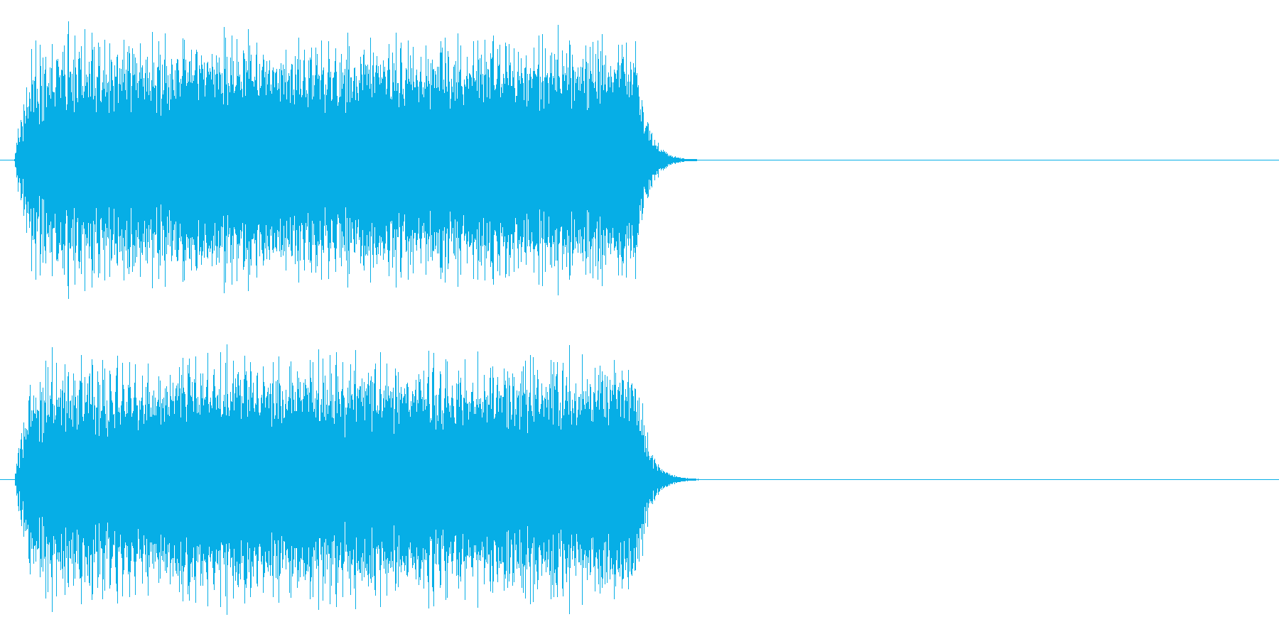 ホィーーーンの再生済みの波形