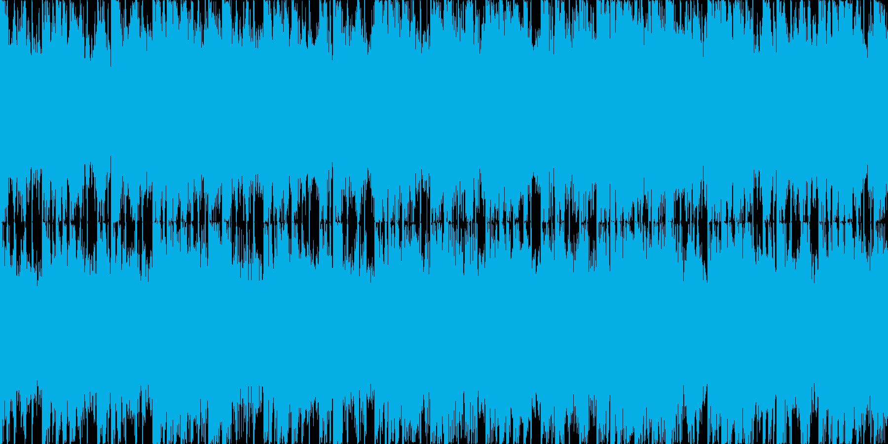 ゲームミュージック、氷のステージの再生済みの波形