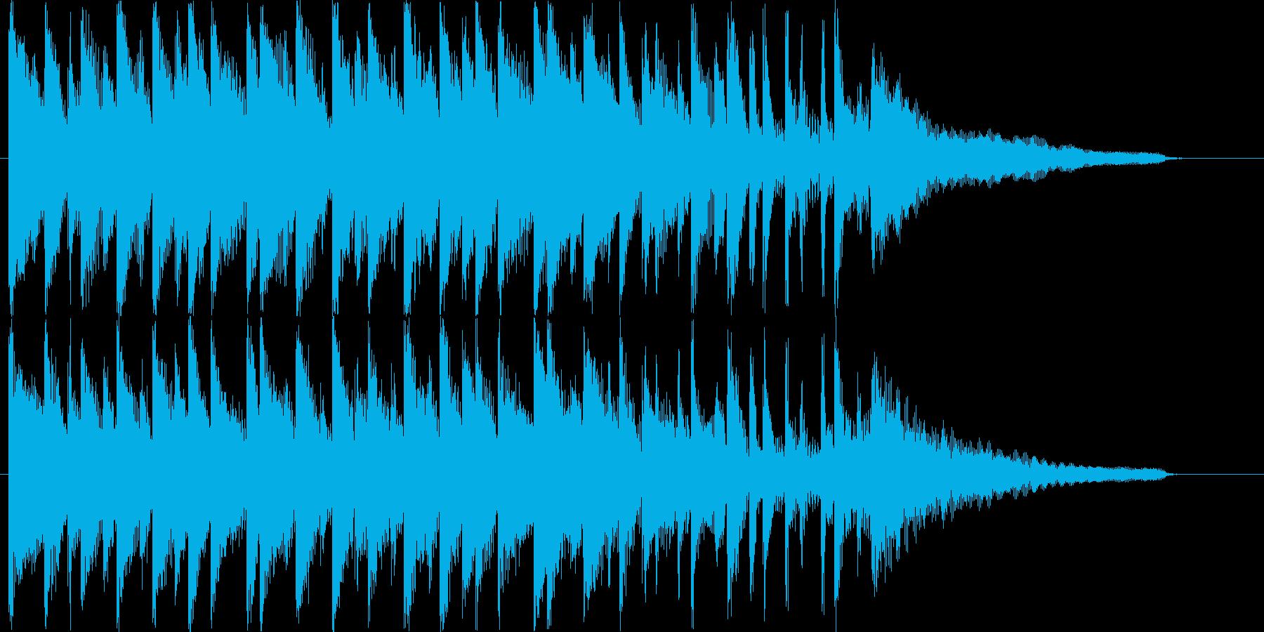 穏やかでハッピーなBGM♪の再生済みの波形