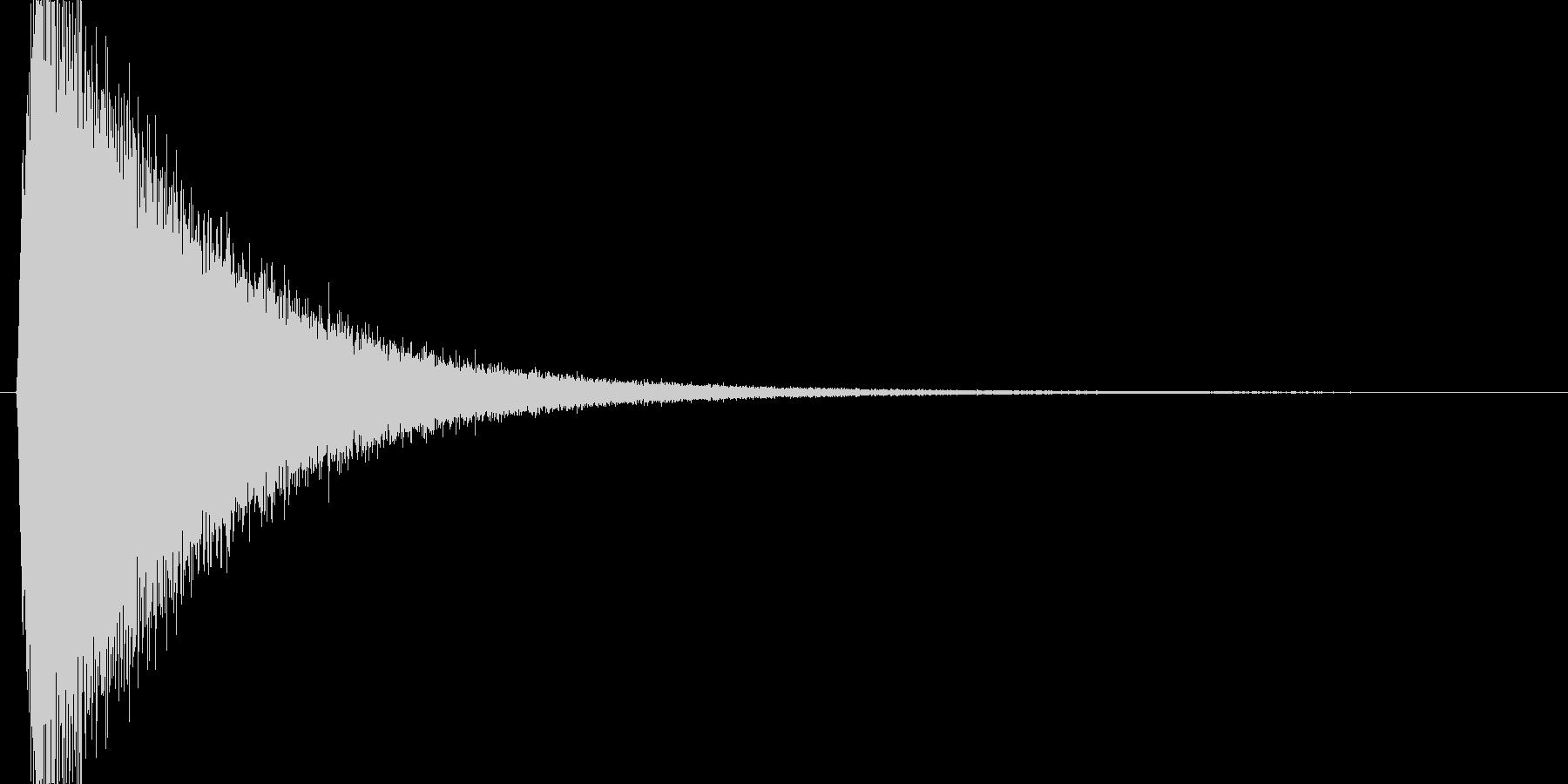 キュイーン(魔法詠唱、チャージ、溜める)の未再生の波形